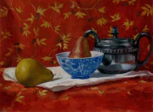 Pears and Red
